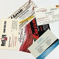 Custom Design and Printed Business Cards