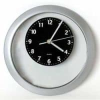 PROMOTIONAL ADVERTISER WALL CLOCK