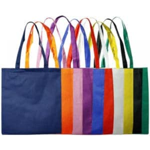 Custom Branded Large Non Woven Tote Bag with No Gusset