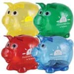 Promotional Smallest Pig Coin Bank