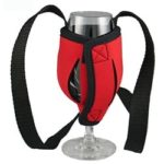 promotional wine glass cooler holder