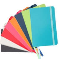 promotional A5 notebooks with elastic bands