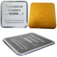 Custom Design Aluminium Drink Coaster