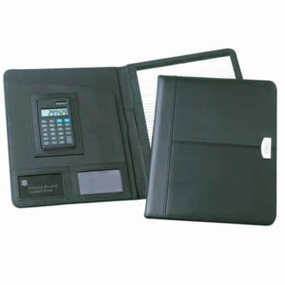 Promotional A4 Essex Leather Conference Folder