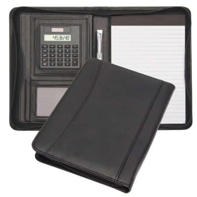 Promotional A5 Zip Round Compendiums