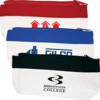 Promotional Cotton Canvas Organiser Pencil Cases