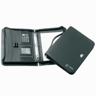 Promotional Lucerne 3 Ring Zippered Compendium