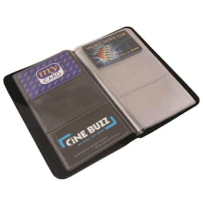 Promotional Packer Business Card Holder A5 Holds 72 Cards