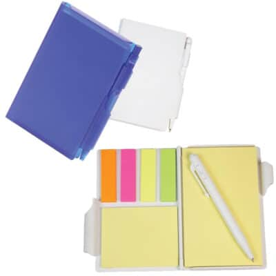 Sticky Note Book And Pen