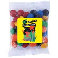 Promotional M&M's In Cello Bag (50g)