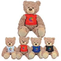 Promotional Bailey Plush Teddy Bear