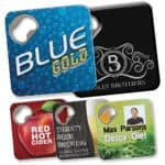 Promotional Quench Bottle Opener And Coaster
