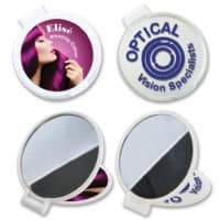 Promotional Round Folding Mirror