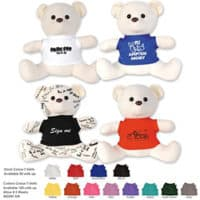 Promotional Signature Calico Bear