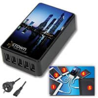 Promotional 5 Port USB Charger