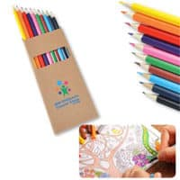 Promotional Full Length Colouring Pencils