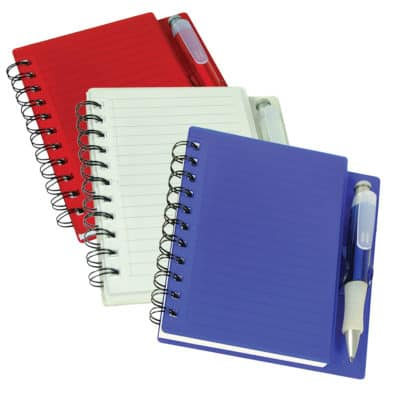Handy Notebook With Pen