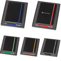 Promotional Notebook Havana Pen Set