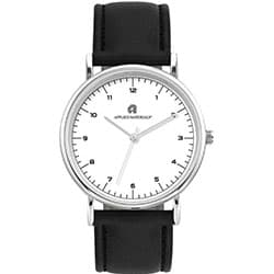 Promotional Unisex Watch With PU Leatherette Band