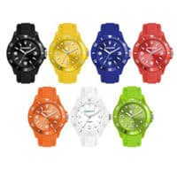 Promotional Unisex Watch With Silicon Band