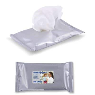 Anti Bacterial Wet Wipes In Pouch X 10