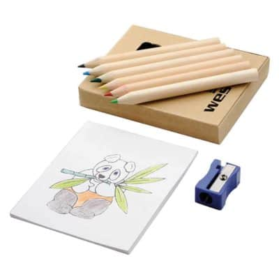 Promotional Boxed Colouring Set
