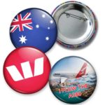 Custom Made 55mm Diameter Button Badges