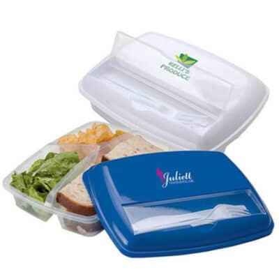 3 Section Lunch Box