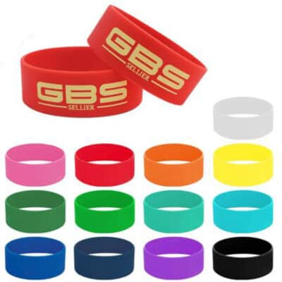 Kriys 25mm Wide Silicon Wrist Bands