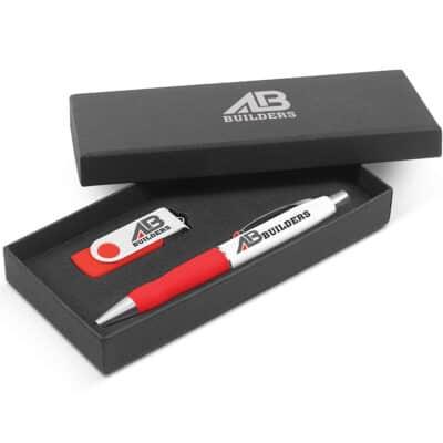 Turbo Pen With 4GB Flash Drive Gift Set