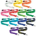 Bamboo 20mm Wide Lanyards