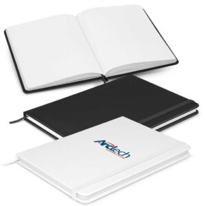 Omega Unlined A5 Notebook